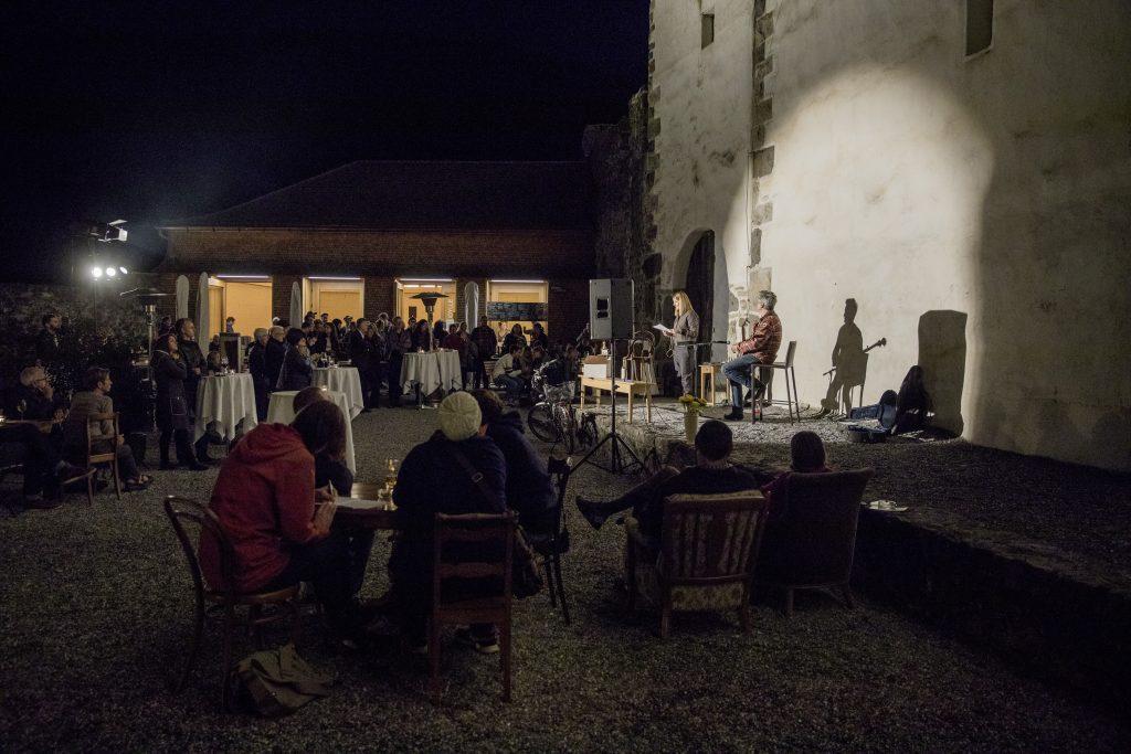 Werdenberg, St. Gallen, Schweiz, 22. September 2017 - Ausstellung mein Werdenberg, Ausstellungen mit Relikten von Bewohnern rund um das Schloss.